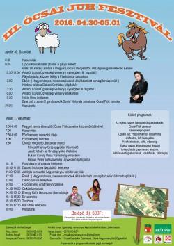 III. Ócsai Juhfesztivál 2016.